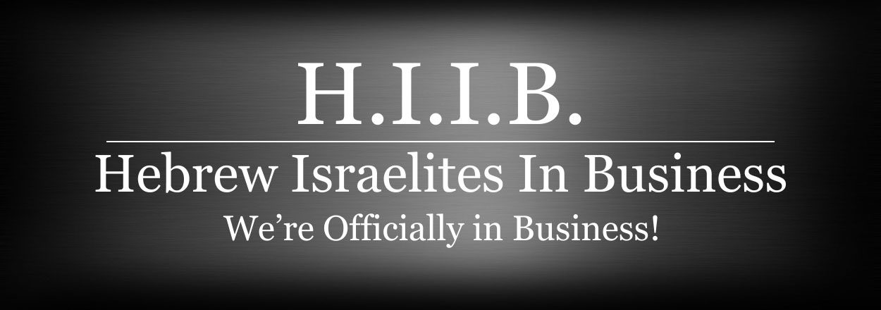 Hebrew Israelites In Business